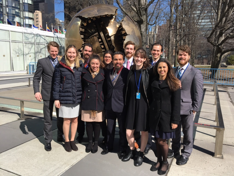 Catholic students advocate for family values at UN commission onwomen